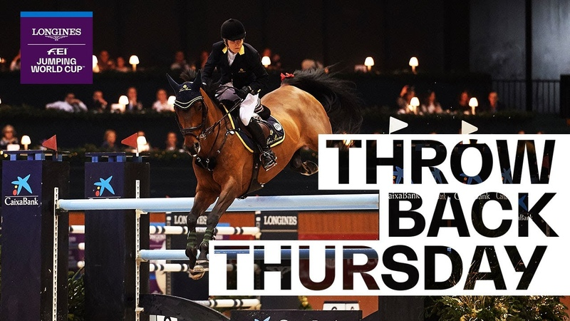 Edwina Tops Alexander delights the crowd in La Coruña TBT Longines FEI Jumping World Cup™