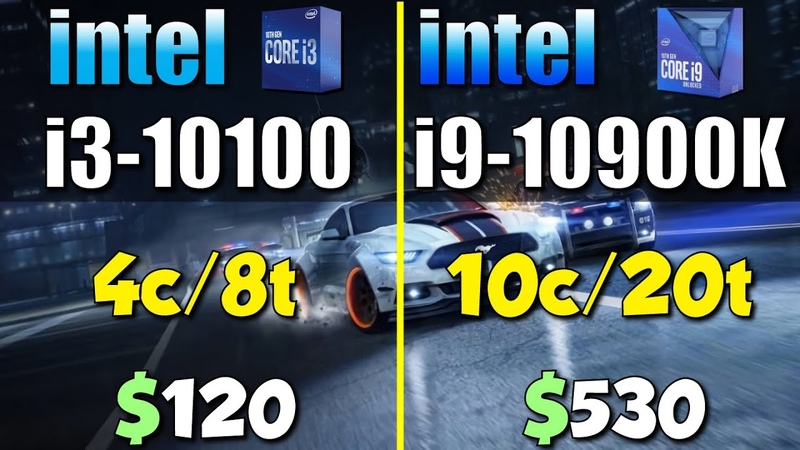 I3 10100 vs i9 10900K How Big is The Difference