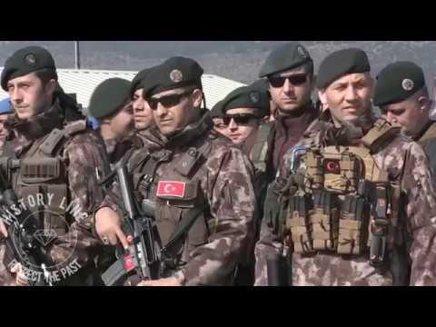 Turkish Armed Forces going to Afrin, Türk Silahlı Kuvvetlerini Afrine Uğurlama. Sevgi seli.