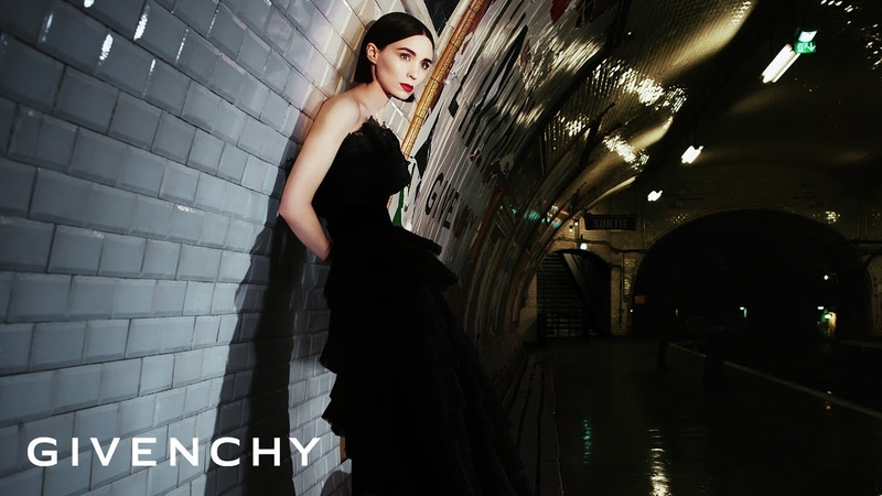 Givenchy L'Interdit Fragrance Campaign starring Rooney Mara