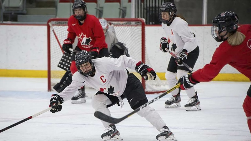 Red vs White Game 4 Highlights | Canada National Women's Team Training Camp 2021