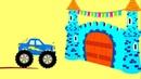 Мультики про машинки - БИБИКА - Причудливый мир - Развивающие мультфильмы