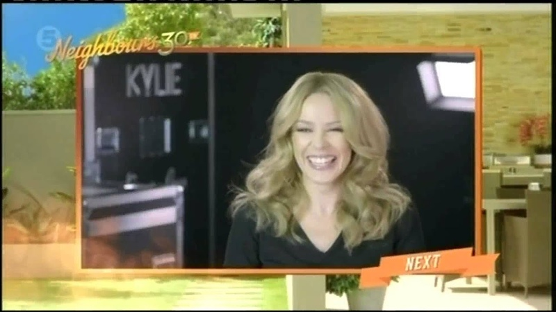 Kylie Interview About The 30th Anniversary Of Neighbours - 3.15.