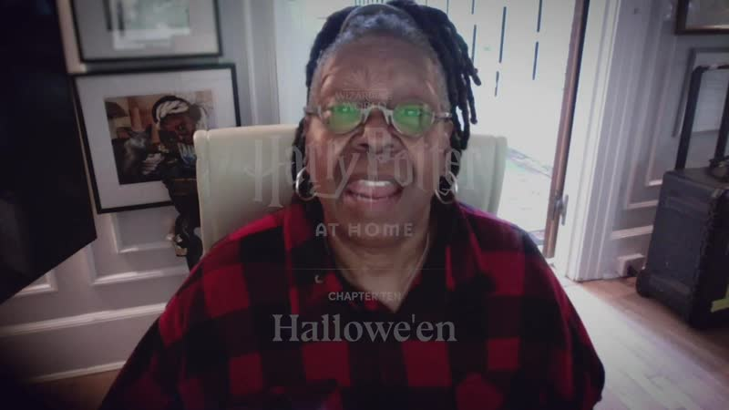 Watch Whoopi Goldberg reading Harry Potter at home
