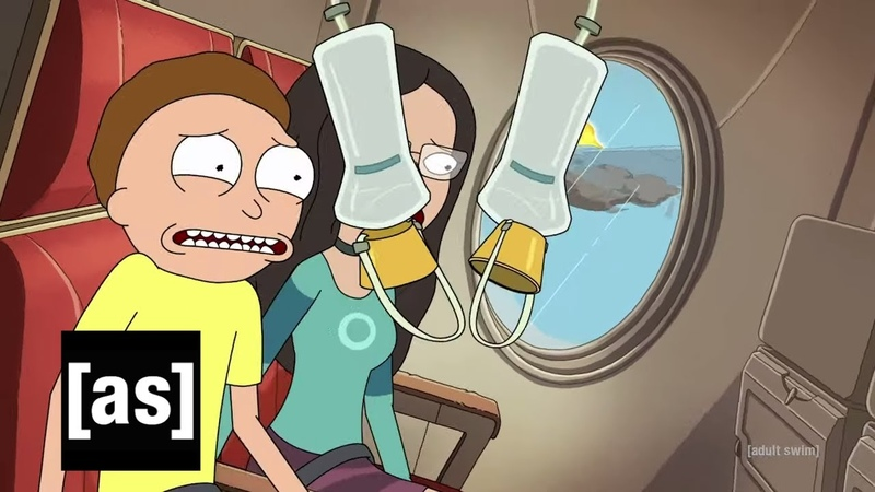 Morty Resets His Life Rick and Morty adult swim