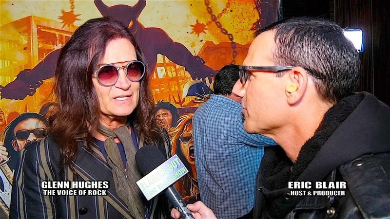 Glen Hughes Eric Blair talk Dio Cancer Fund, Wendy Dio and RNR Hall Of Fame