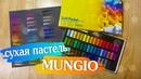 ОБЗОР сухая пастель MUNGIO. Как выбрать сухую пастель.