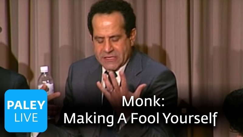 Monk Trusting The Writers And Making A Fool Of Oneself Paley Center