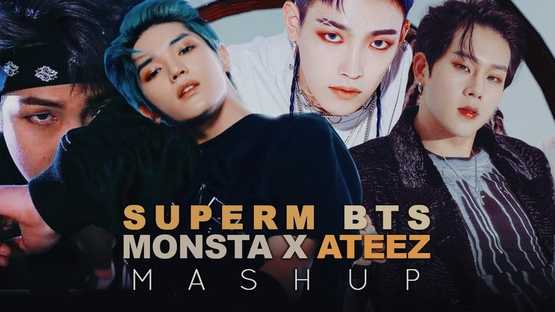 SuperM BTS Monsta X ATEEZ — JoppingNot TodayFallinWonderland (MASHUP)