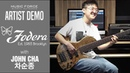 Fodera Custom Emperor II Elite 5 Demo - '정신병자들' by Bassist '차순종' (John Cha)