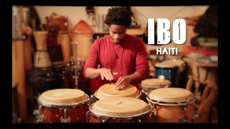 IBO Haitian Rhythm Drum solo