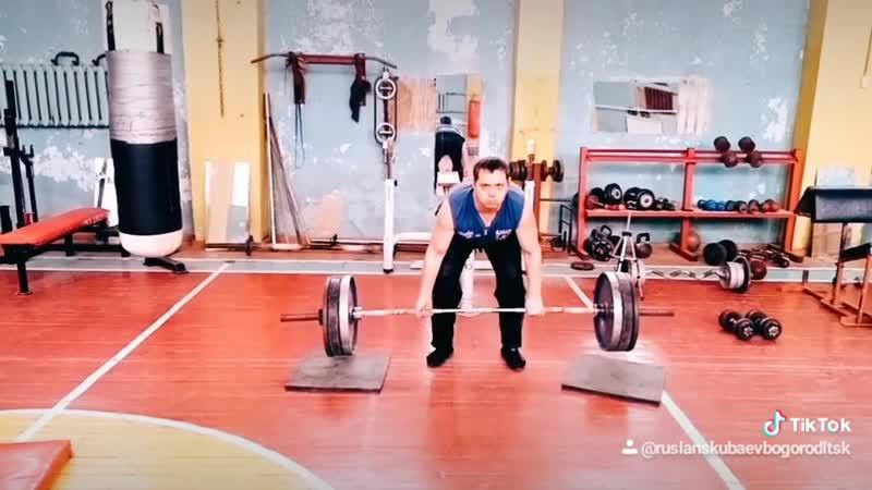 Тяга 140 кг в спортзале Богородицк