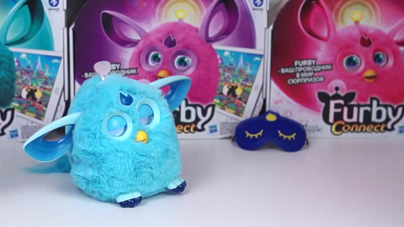 Русский Ферби Коннект Furby Connect RU 1