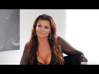 Becky Bandini (русские субтитры, big tits, anal, brazzers, sex, porno, инцест, мамка, озвучка перевод на русском)