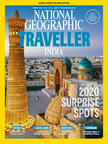 National Geographic Traveller IN 01.2020