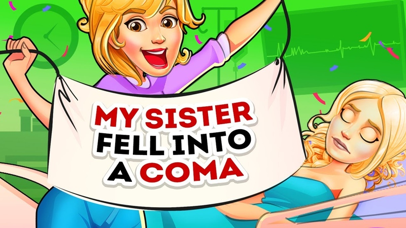 I had fun with my twin sister's hubby while she was in a coma Short animation