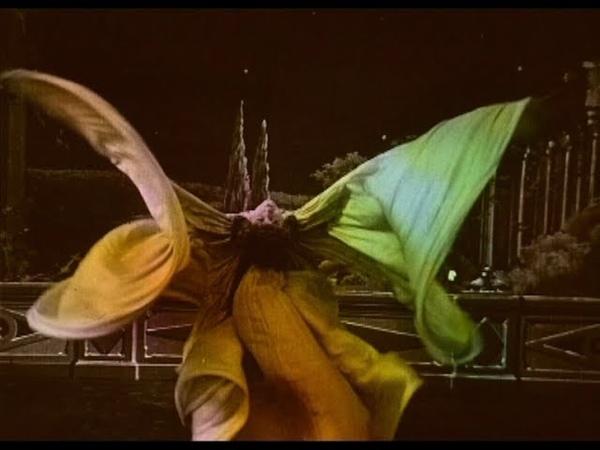 Loie Fuller 1905 silent short film