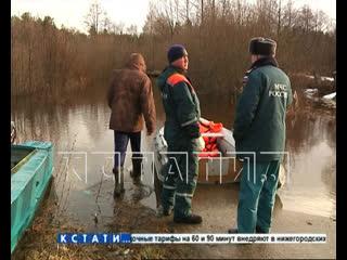 Паводок в Нижегородской области набирает обороты