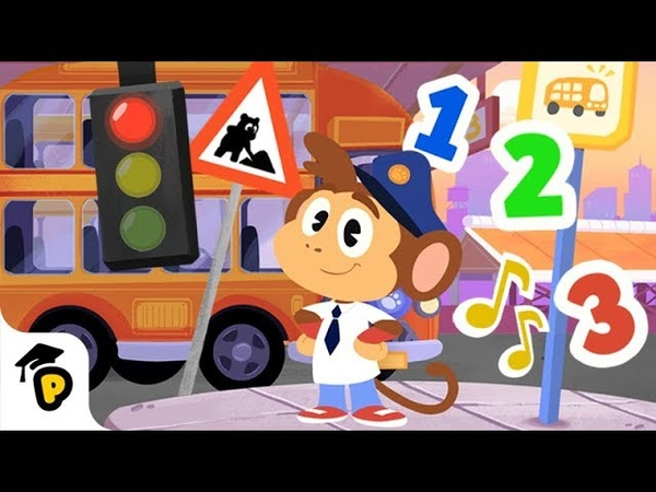 Dr Panda TotoTime Bip's Bus Ride Full Episode 10 Kids learning video