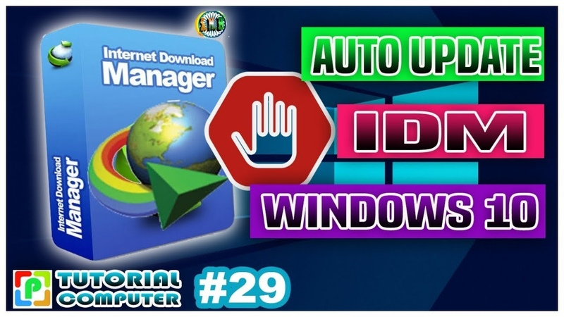 HOW TO DISABLE AUTO UPDATE INTERNET DOWNLOAD MANAGER WINDOWS 10 COMPUTER TUTORIALS PART 29