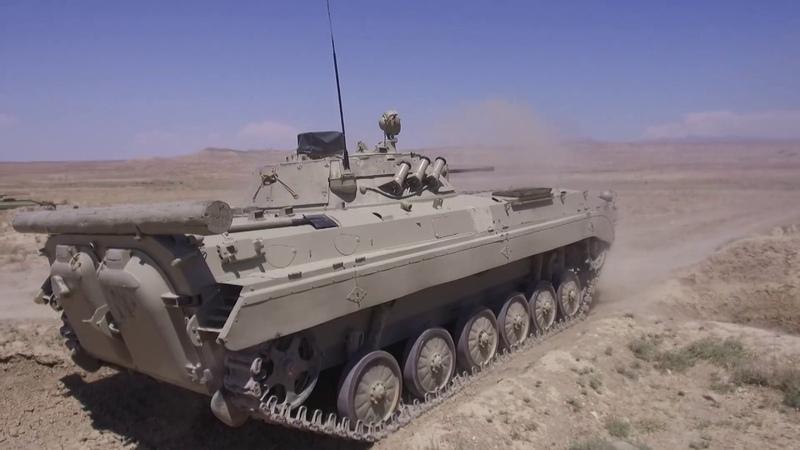 Əlahiddə Ümumqoşun Orduda keçirilən taktiki təlimlər davam edir 10 07 2020