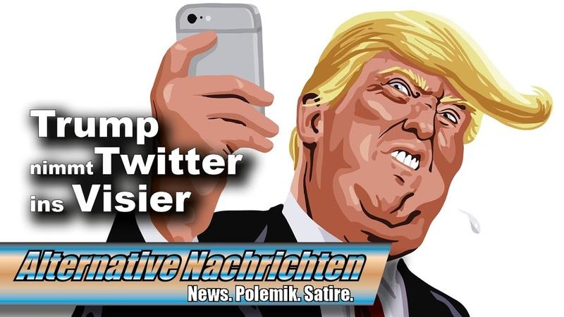 Trump geht gegen Twitter vor Droht jetzt die Schließung Top Thema AN 417