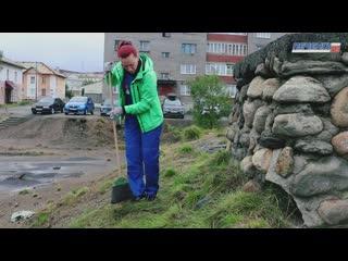 Субботник в Никеле  I Печенга-ТВ