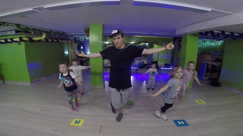 Baby Shark Trap Remix tutorial dance Беби Шарк танец урок туториал