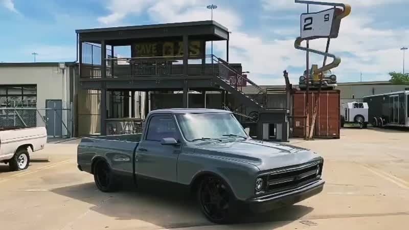 Gas Monkey Garage - Chevrolet C10 (Быстрые и громкие)