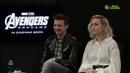 Avengers: Endgame Korea   Interview with Giovanni Borgia and Zoey Jensen