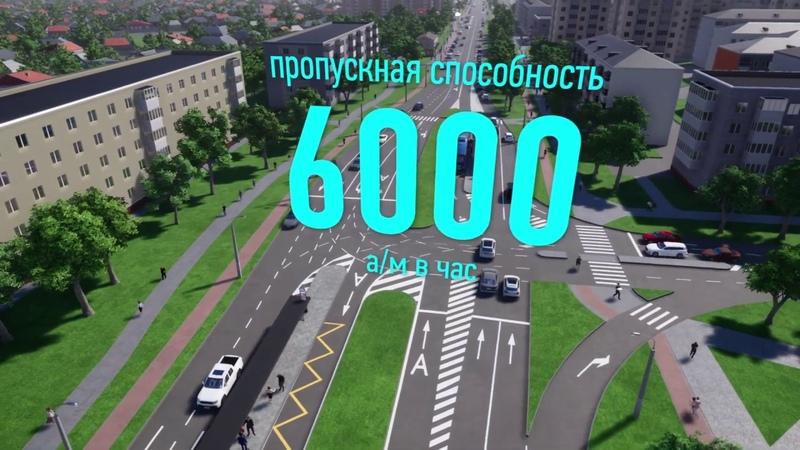 Выделенные полосы для общественного транспорта на ул Щорса