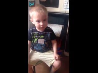 Сын просит маму спеть песню Пропала собака