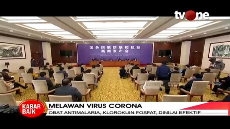 Lawan Virus Corona Cina Klaim Telah Temukan Obat Antivirus tvOne