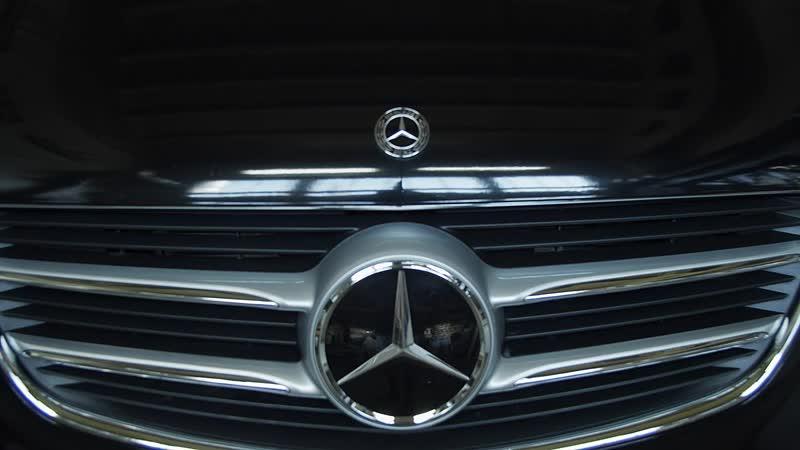 Mercedes Benz V установка доводчиков дверей
