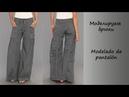 Моделируем брюки. Modelado de pantalón